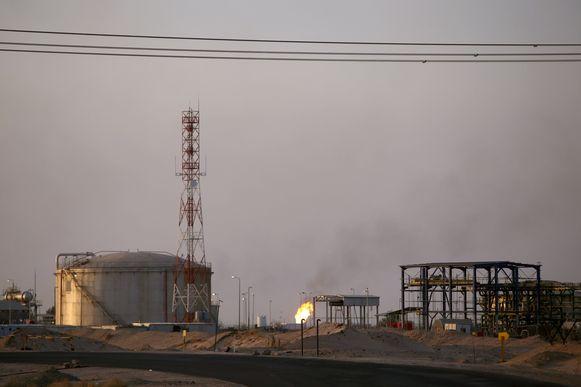 Het al-Zubair olieveld nabij Basra in Irak.