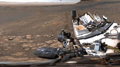 Marsrover Curiosity neemt zijn scherpste panoramafoto ooit