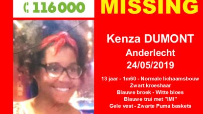 Vermiste 13-jarige is gevonden