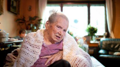 Berta is met 105 jaar oudste inwoner van Heist (en ze woont nog thuis!!)