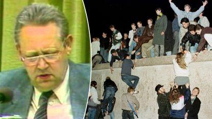 Hoe de Berlijnse Muur 30 jaar geleden eigenlijk per ongeluk viel: na vergissing van één man