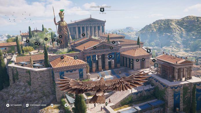 De Discovery Tour: de Akropolis in vogelvlucht.
