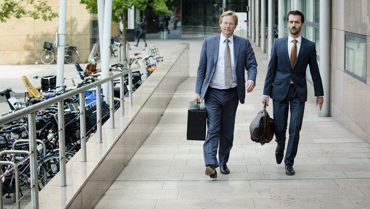 Advocaten Van Hardenbroek (L) en Diekstra (R) Beeld ANP
