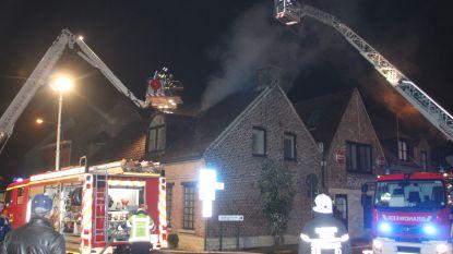 Woning onbewoonbaar na brand in Kuurne