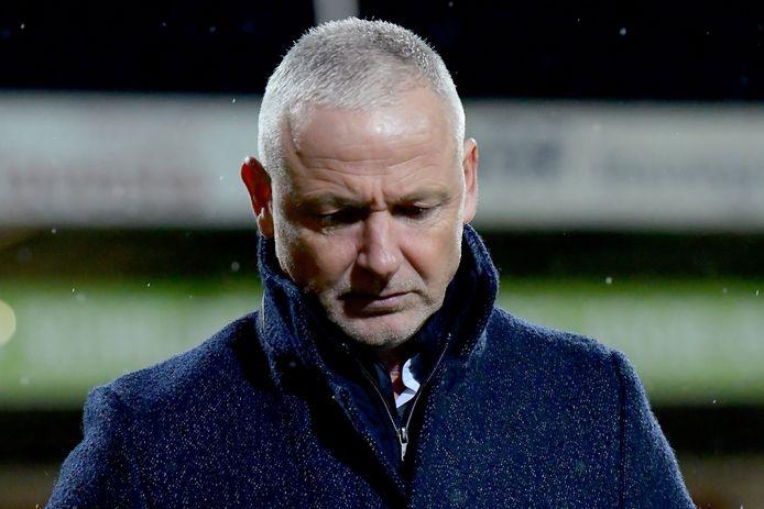 Jack de Gier, trainer van Go Ahead Eagles