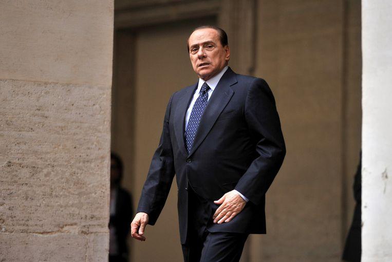 Berlusconi heeft altijd alle banden met de maffia ontkent. Beeld afp