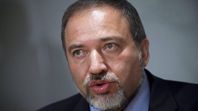 Avigdor Lieberman Beeld reuters