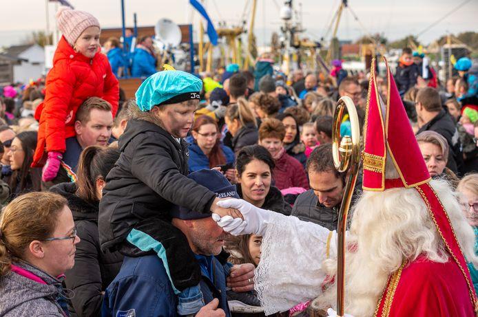 Sinterklaas komt aan in Yerseke