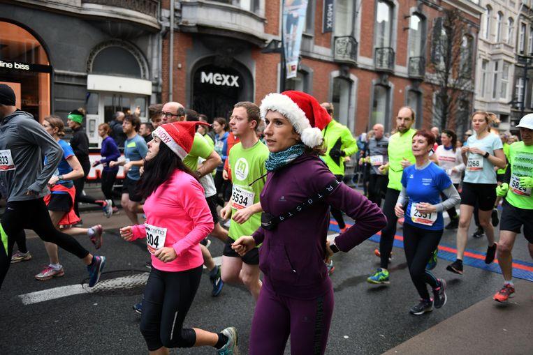 De Eindejaarscorrida in hartje Leuven is het sportieve hoogtepunt van het jaar.