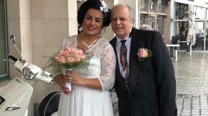 """Na zes lange jaren mogen Michel en Elisabete eindelijk trouwen, en Elvis is 'getuige': """"Echte liefde overwint altijd"""""""