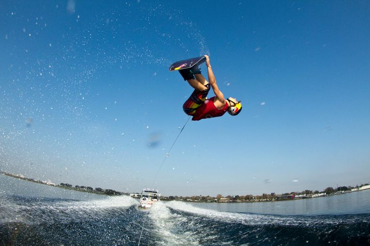 Wakeboarder Marc Kroon Beeld Red Bull Mediahouse