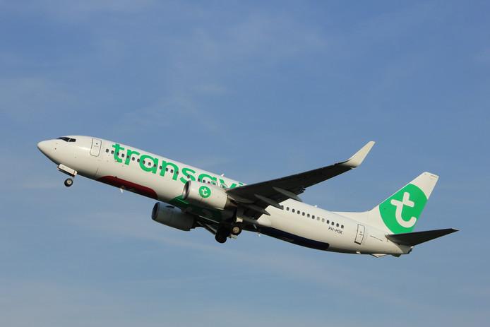 Transavia vliegtuig Boeing 737
