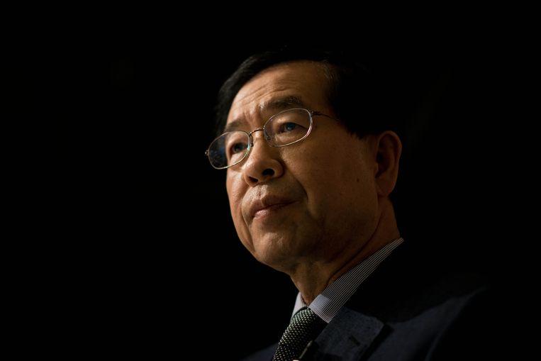 Park Won-soon werd lang gezien als een kansrijk kandidaat voor de presidentsverkiezingen in 2022.