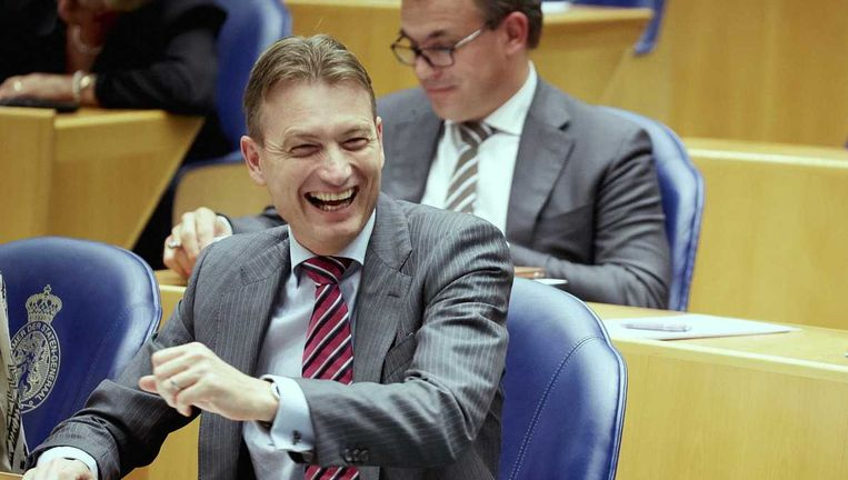 VVD-fractievoorzitter Halbe Zijlstra in de Tweede Kamer. Beeld anp