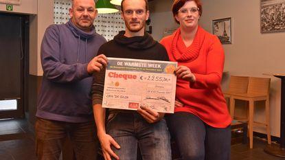 Marathonopening De Gilde levert 2255 euro op