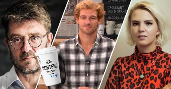 Anne Fleur Dekker en Jan Heemskerk in De Ochtend Show to go