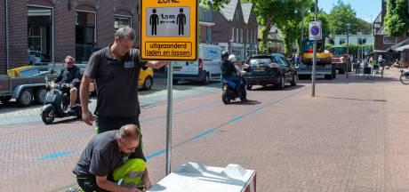 Epe en Vaassen gaan terug naar normaal: auto en fiets weer welkom in dorpscentra