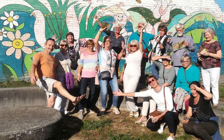 Schildersgroep Het Zonnepalet doet mee aan kunstenpromenade Toeren en Loeren.