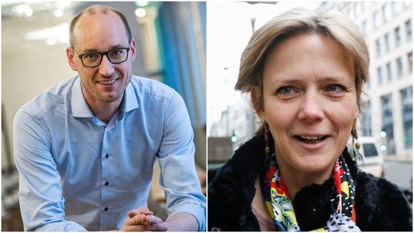 Vincent Van Peteghem en Katrien Partyka hebben zich allebei kandidaat gesteld om CD&V-voorzitter Wouter Beke op te volgen.