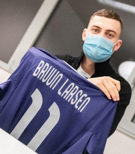 Les dernières infos mercato: Anderlecht officialise l'arrivée de Bruun Larsen, Botaka prêté à Charleroi