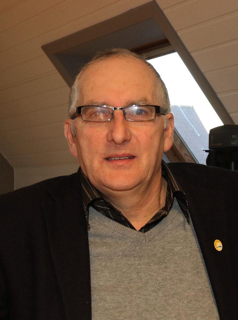 Burgemeester Dirk Sioen.