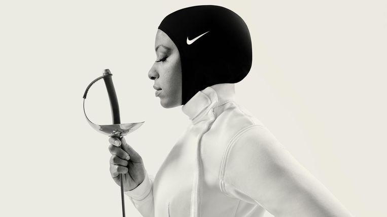 Schermkampioene Ibtihaj Muhammad.