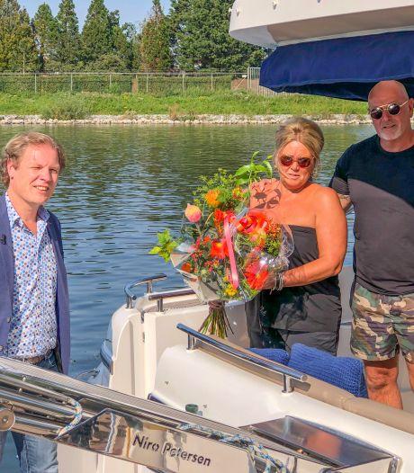 Coronaseizoen eindigt 'top' voor Harderwijkse haven: Spakenburgse boot is 10.000ste bezoeker
