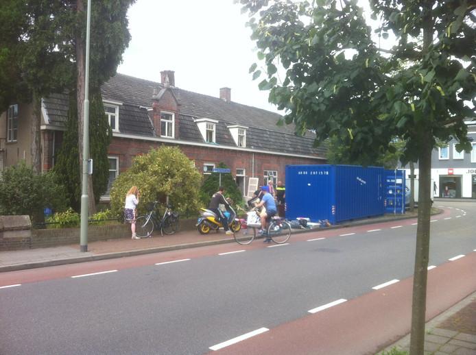 De ontruiming in de Van Hornstraat in Boxtel.
