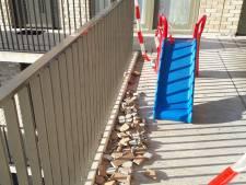 Gevaar voor stenenregen in Utrechtse wijk Overvecht is voorbij