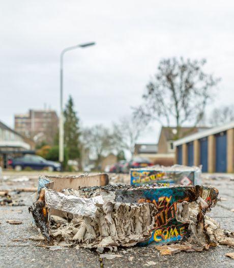 Niet Roosendaal, maar juist Halderberge is veel kwijt aan vuurwerkschade tijdens de jaarwisseling