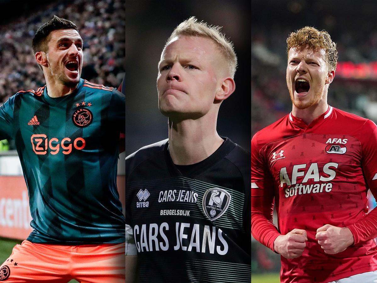 De competitie stopzetten en Ajax tot kampioen uitroepen? Maar wat dan met AZ, dat op gelijke hoogte staat. En moet ADO Den Haag dan degraderen? Onze voetbalexperts spreken zich uit
