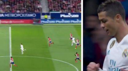 De sprint van Cristiano Ronaldo tegen Atlético die wenkbrauwen doet fronsen