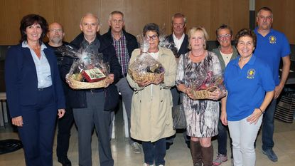 Prijzen voor winnaars wandel- en fietszoektochten