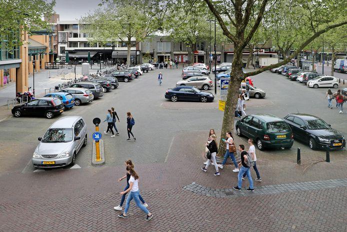 De parkeerplaats De Wal