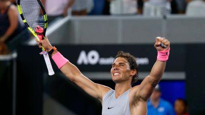 Nadal als een stoomtrein naar achtste finales in Melbourne, ook Dimitrov stoot door - Derde ronde eindstation voor 15-jarig toptalent