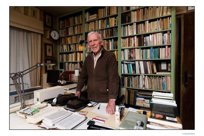 Aster Berkhof in zijn bureau in Asse in 2013.