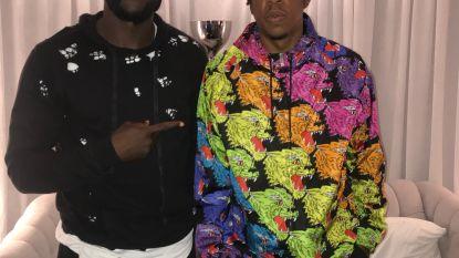 Lukaku ontmoet zijn held Jay-Z