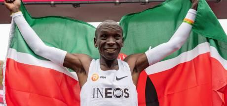 De magische race van Kipchoge: 'Ik ben de gelukkigste man op aarde'