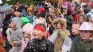 Kindercarnavalsstoet met prins van België Arne