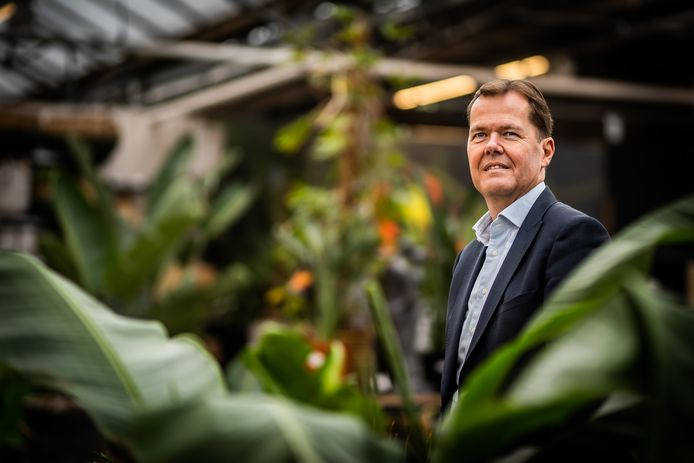 """Marcel Hielkema,  directeur van werkbedrijf Scalabor en voorzitter van werkgeversorganisatie VNO-NCW Midden: ,,Bij meerdere bedrijven gaat het beter dan verwacht."""""""