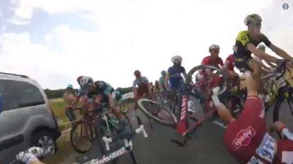 Na deze stevige val verlaat Tony Martin de Tour (en dat daags voor Roubaix-rit)