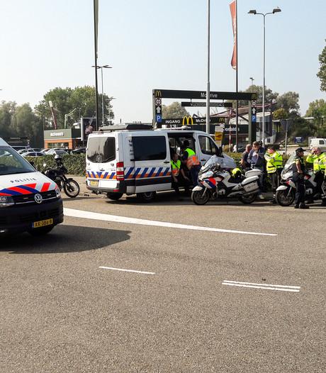 In Arnhem weggestuurde motorrijders wijken uit naar Duiven