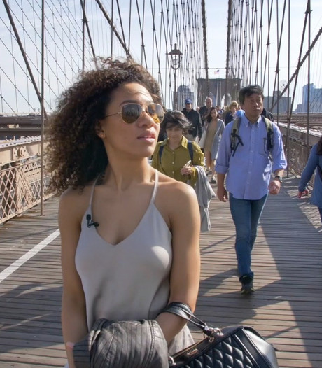 De trip naar New york met Gaia Aikman