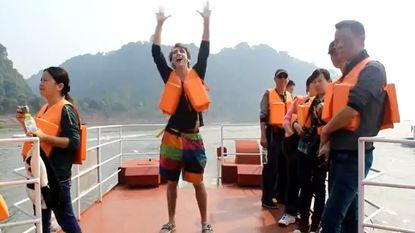 Al dansend door China in 100 dagen