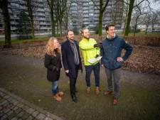 Schiedam is straks 1800 bomen rijker, als de drie tiny forests zijn aangelegd