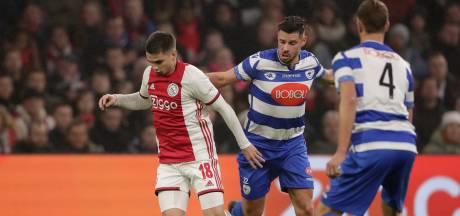 Geen stunt voor Van den Houten en Spakenburg op bezoek bij Ajax