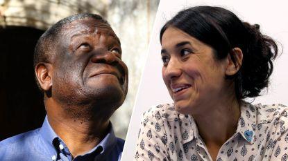 Congolese dokter en Iraakse jezidi-activiste krijgen Nobelprijs voor Vrede