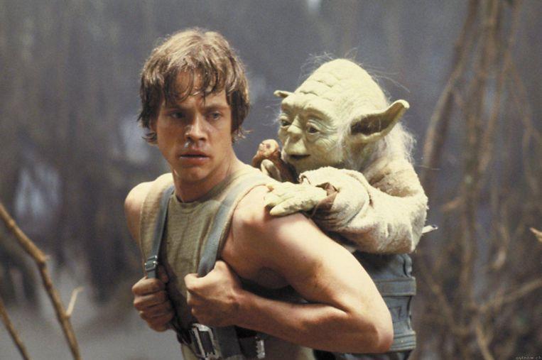 Mark Hamill als Luke Skywalker in Star Wars: Episode V - The Empire Strikes Back (1980). Beeld null