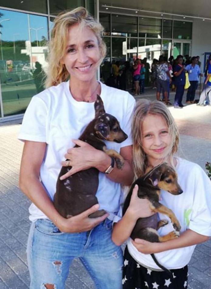 Wendy en haar dochter Lizzy