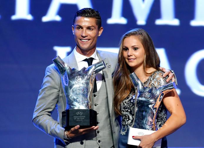 Cristiano Ronaldo en Lieke Martens.